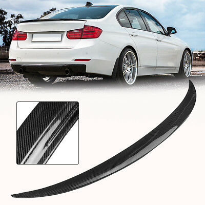 REAL Carbon Fiber Performance Style Trunk Spoiler For 12-Up BMW F30 3-Series