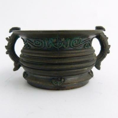 Japanese Bronze Miniature Censer, 19Th Century