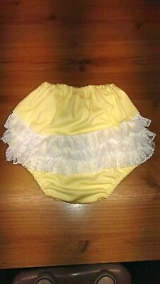 Washable Frilly cotton interlock pants-knickers