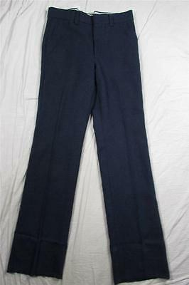 Vtg NOS 60s H.I.S. Brand USA Made Polyester Dress Pants NWT DS Measure 35x38