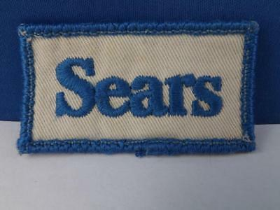 Sears Department Store Employee Patch Vintage Blue White Canada Collector Badge