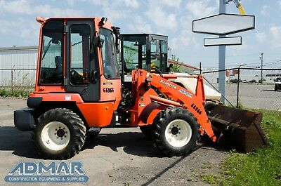 2012 KUBOTA R520S2T3 Wheel Loader with Heated Cab.