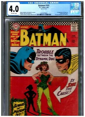Batman 181 Cgc 4.0 Blue First Appearance Of Poison Ivy