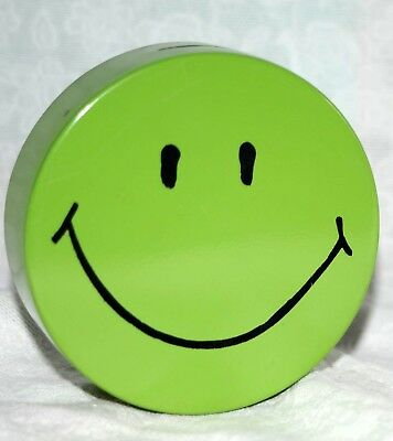 Vintage Smiley Face Metal Bank - Good Quality Beautiful Simple Design