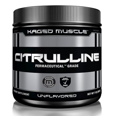 Kaged Muscle Citrulline Powder 7 oz (200g) 100 Servings Unflavored