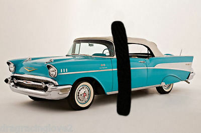 1957 Chevy Bel Air Classic American Car 8x10 GLOSSY PHOTO!