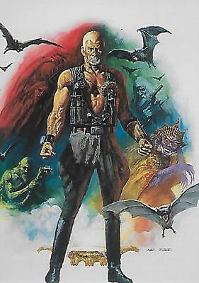 The Beast Within: Ken Barr Komplettes Collector Trading Cards Set 1994