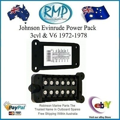 A Brand New Power Pack Johnson Evinrude 3cyl & V6's 1972-thru-1978  # 582057