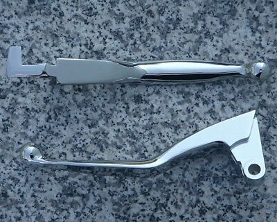 Yamaha Road Star 1600 1700 & Warrior CHROME FRONT BRAKE & CLUTCH LEVERS