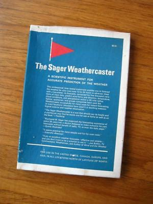 The Sager Weathercaster scientific instrument weather forecasting sailing wind