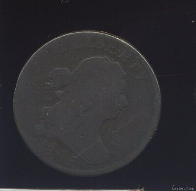 1805 G Draped Bust half cent. Great dark brown color.