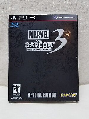 Marvel vs. Capcom 3: Fate of Two Worlds Special Edition (Sony PlayStation 3) New