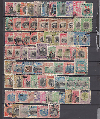 North Borneo 1894/1900's Collection Used to $2