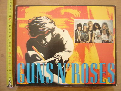 Poster Carte GUNS N' ROSES Groupe Musique Music