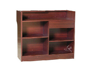 Ledgetop Counter Cherry Display Showcase  Store Fixture Knocked Down LTC4C