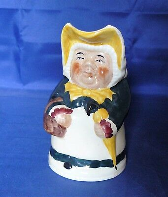 "TONY WOOD - 6"" High CHARACTER ""TOBY"" JUG - BETSY  - Very Good Condition"