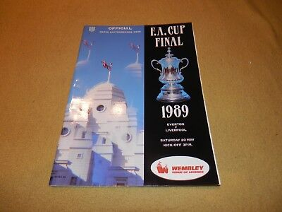 Everton v Liverpool - FA Cup Final in 1989 at Wembley