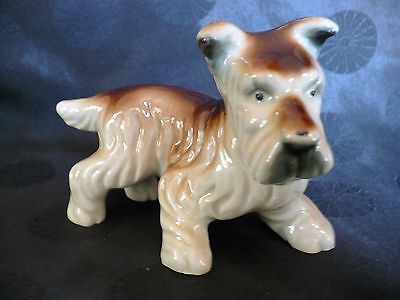"""OCCUPIED JAPAN Terrier Figurine,  5"""" Long - FREE SHIPPING"""