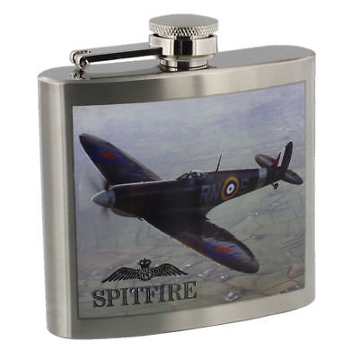 RAF Royal Air force SPITFIRE 5oz Stainless Steel Hip Flask RAF264