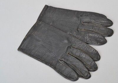 British Army Rifle Regiment Officers' s10 Leather Gloves. Ref BGW
