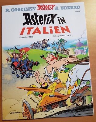 """Asterix Band 37 """" Asterix In Italien"""""""