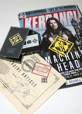 Kerrang! Magazine #1705 Machine Head Ltd Edition Catharsis Demos Cassette Signed