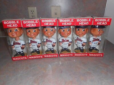 Vintage 1974 Minnesota Twins Bobblehead Nodder Lot Of 6 Nos Goodman