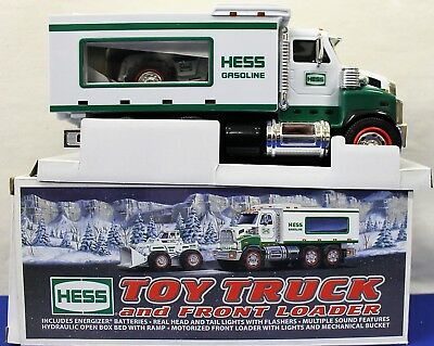 2008 Hess Toy Truck and Front Loader MINT CONDITION!