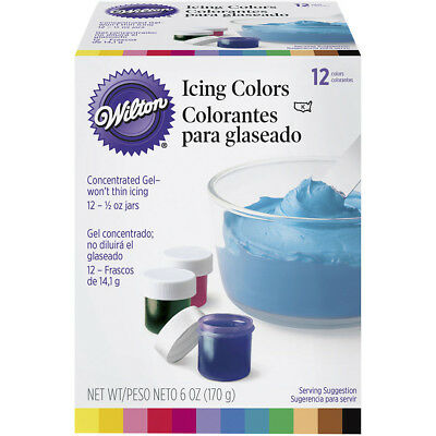 Icing Color Set 12 jars from Wilton #5580