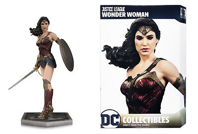 DC Comics Justice League Movie 2017 Gal Gadot Wonder Woman Statue In Stock
