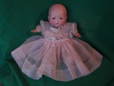 "Antique ARMAND MARSEILLE 11"" Baby Doll AM Bisque Head  SWEET!"