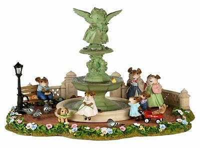 Wee Forest Folk YOUNG ANNETTE IN CENTRAL PARK, WFF# M-2017, LTD 350 Mouse