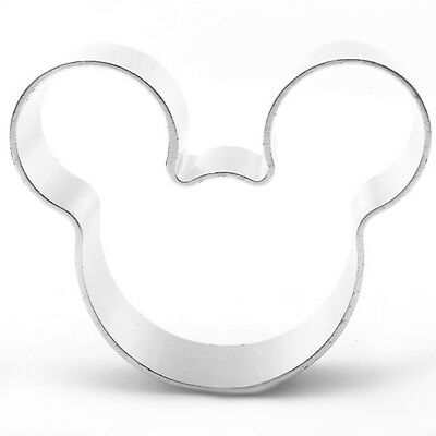 Mouse Head Shaped Cookie Cutter Bake Cook Baking Home Bakery Micky