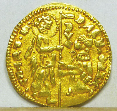 Greece Chios Gold Zecchino ND (1421-1435) VF/Extremely Fine