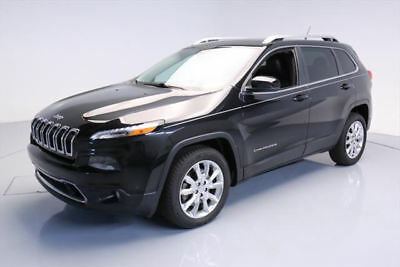 2014 Jeep Cherokee Limited Sport Utility 4-Door 2014 JEEP CHEROKEE LIMITED HTD LEATHER NAV REAR CAM 31K #312644 Texas Direct