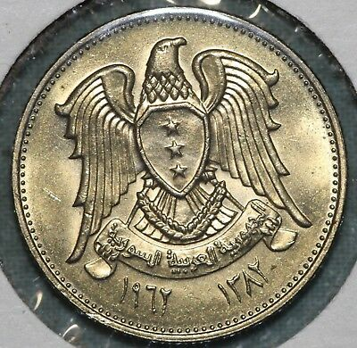 1960 Syria 5 Piastres ~ Uncirculated ~Combined S.& H.