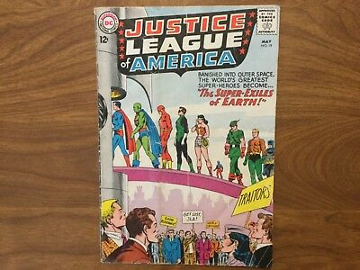 Justice League of America 19  Superman Batman Wonder Woman 1963