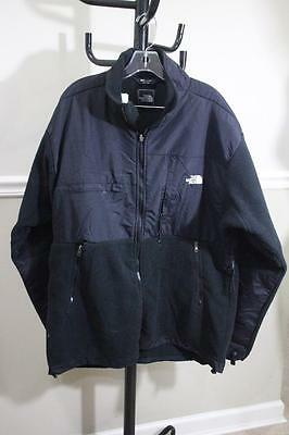 The North Face Men's Black Classic denali Fleece Sweater Jacket SIZE 2XL (co3000