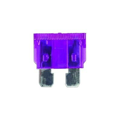 50x Fuses Standard Blade Violet 3A Connect 30411