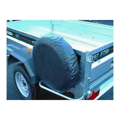 "Trailer Spare Wheel Cover For 10"" Diameter Wheels Maypole 94710"