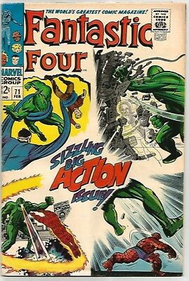FANTASTIC FOUR # 71    Action Packed Book!    ~WOW!~