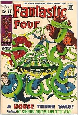 FANTASTIC FOUR # 88    Awesome Book!  NICE!  ~WOW!~