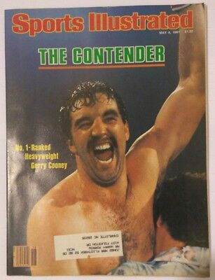 Sports Illustrated Magazine May 4, 1981 The Contender Gerry Cooney Boxing
