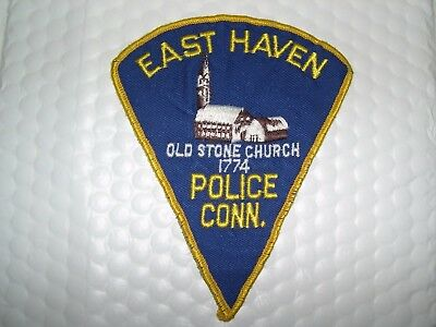 East Haven Police Connecticut O/s