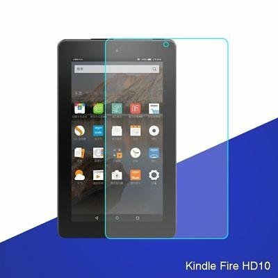 For Amazon Kindle Fire HD 10 (7th Gen) 2017 Tempered Glass Screen Protector USA