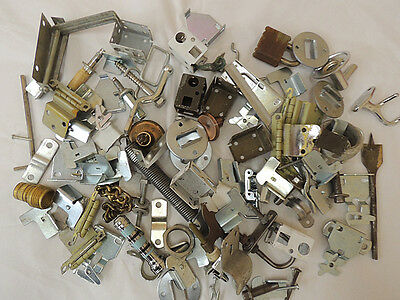 Vtg Mixed Metal Salvage Hardware For Assemblage Art & Craft Huge 7 lb Lot (#3)
