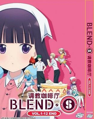 BLEND S | Episodes 01-12 | English Subs | 1 DVD (VS0344)