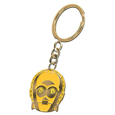 Licensed Star Wars Metal Keyring - C3PO