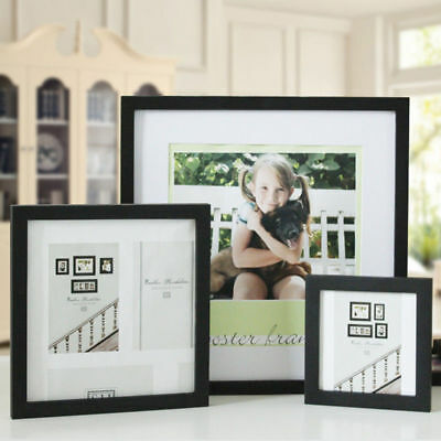 "Multi-size Room Decor Wooden Picture Photo Wall Frame Square 5""/6""/7""/8""/10"""