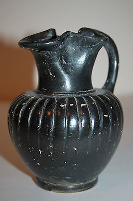 QUALITY ANCIENT GREEK CANOSAN POTTERY OLPE 4th BC WINE CUP